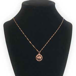 Jewelry - TAURUS NECKLACE Zodiac Gifts Rose Gold Astrology